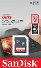 SanDisk Ultra SDHC 32GB 48MB/s UHS-I Class 10